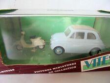 1/43 . FIAT 500 + Scooter     VITESSE (104)