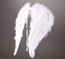 1 Paar Engelsflügel aus echten Federn / Engel Flügel in weiß / Engels-Flügel