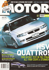 Motor Mar 04 BMW M3 XR8 Ute VY SS Ute HSV Coupe 4 IS430 FPV XR6 Turbo Typhoon