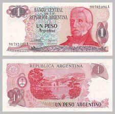 Argentinien / Argentina 1 Peso 1983-1984 p311a unz.