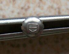 Heuer wristwatch steel crown 5,5 mm. in diameter