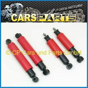 Front And Rear Oil Shock Absorbers - LADA Niva 1600, 1700, 1900 - Brand FENOX