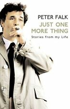 Just One More Thing New Paperback Book Peter Falk
