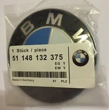 BMW 82mm REPLACEMENT BONNET HOOD BADGE EMBLEM for 1 3 5 7 Z3 Z4 X3 Vehicles