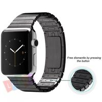1:1 Stainless Steel Link Bracelet Strap Band For Apple Watch Series 5 4 3 2 1