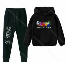 Among Us Imposter Hoodie and Pants Set Sweat Suit Boys Girls Many styles/colors/
