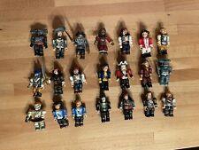 Mega Bloks Pirates of the Caribbean mini figures - 21 Bulk Lot
