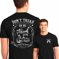 American Constitution Patriotic T Shirt Don't Tread On Me Small to 6XL Big Tall