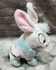 "Neopets Striped Cybunny Bunny Rabbit Plush Stuffed Toy Animal 6"""