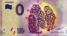 BILLET 0 EURO EURO SCHEIN  TOURISTIQUE KIZOODO 2018