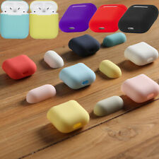 For Airpods 1&2 Cover Airpod Case Rubber Silicone Shockproof Shell Mutil-Color