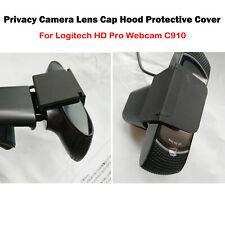 For Logitech HD Pro Webcam C910 Camera Lens Cap Protective Hood Cover Black New