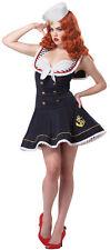 Womens Large (10-12) Nautical Doll Sailor Costume - Sailor Costumes