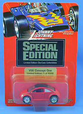Johnny Lightning Special Edition VW Concept One Red 1994 NewsFlash Club 1/5000