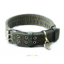 Nylon Pet Dog Necklace Neck Strap Collar Buckle Adjustable L XL for Large Dog #L