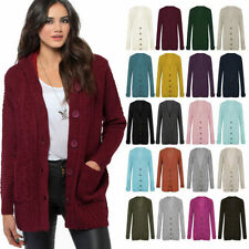 Hip Length Formal Acrylic Jumpers & Cardigans for Women