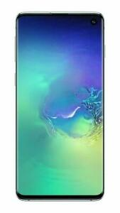 "Samsung Galaxy S10 G9730 Green 128GB/8GB 6.1"" Snapdragon 855 Phone  By Fed-ex"