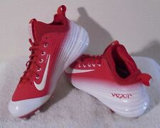 New Nike Lunar Vapor Trout Mens Metal Baseball Cleats 13 Red/White Msrp$140