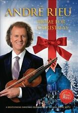 Aundre Rieu Home for Christmas (DVD) Very Good Condition