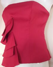 COAST RASPBERRY BUSTIER STYLE AMILE TOP SIZE 12
