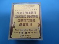 Vintage Dollhouse 24 Old Fashioned Collector's Country Store Groceries VS31