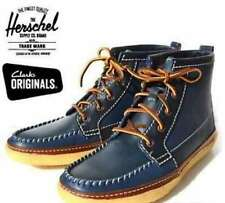 NEW WITH BOX CLARKS ORIGINALS VULCO GUIDE BLUE COMBI LEATHER  SIZE 43 UK 9G