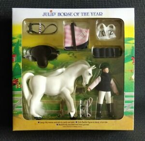 Julip Horse of the Year No. 1420 ISABELLA & ICICLE Collectable Figure Set NEW