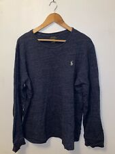 Polo Ralph Lauren Casual Long Sleeve Shirt Light Blue Size Xl