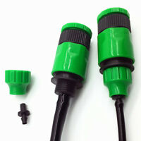 KQ_ BH_ Agriculture Irrigation Water Hose Fast Connector Nipple Adapter Garden T