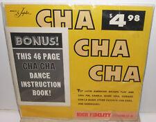 The Borinquen Sextet & Paquitin Lara Orquestra - CHA CHA CHA -  Latin LP Sealed