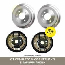 KIT MASSE FRENANTI + TAMBURI FRENO FIAT GRANDE PUNTO 1.3 D MJET FIAT LINEA