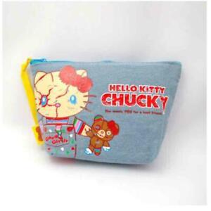 Hello Kitty Sanrio Chucky USJ Pouch Accessories case 20cm