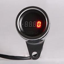 Motorcycle ATV Dirt Bike LED Digital Display Tachometer Speedometer 12V