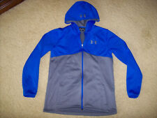UNDER ARMOUR COLDGEAR STORM BOY'S LOOSE FIT FULL-ZIP HOODIE SIZE YOUTH XL