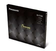 New Panasonic Premium Blu-ray Disc 25GB 6x BD-R Bluray LM-BR25MDP Japan