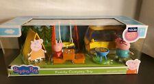 Jazwares Peppa Pig Family Camping Trip 7pc Toy Set