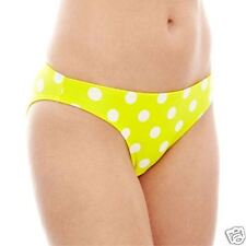 Arizona Polka Dot Hipster Swim Bottoms Surfboard Yellow Sizes L, XL New