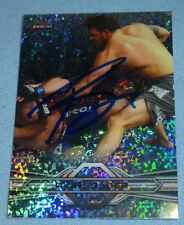 Ryan Bader Signed UFC 2013 Topps Finest Refractor Card #28 PSA/DNA COA Autograph