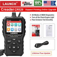 LAUNCH CR529 Automotive OBDII Code Reader OBD2 EOBD Car Diagnostic Scanner Tool