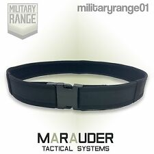 Marauder British Army Combat Belt - Black - Military Quick Release Buckle