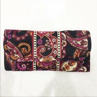 Stephanie Dawn paisley floral wallet NWOT
