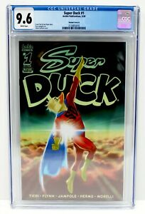 SUPER DUCK #1 CGC 9.6 NM+ Adam GORHAM Variant Cover D ARCHIE Comics FAST SHIP