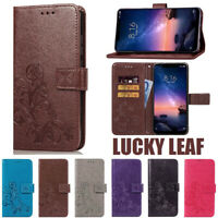 Leather Flip Case Card Wallet TPU Protective Cover For Xiaomi Redmi Note 5 6 Pro