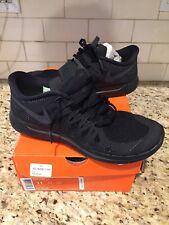 Mens Nike Free 5.0 shoes size 11 Black/Black