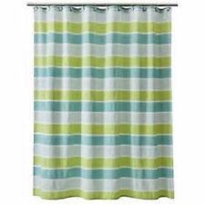 teal striped shower curtain. Cottage Threshold Striped Shower Curtains  eBay