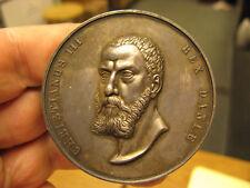 Denmark Frederik VI Christian III Anniversary of Reformation 1836 Silver Medal