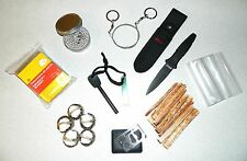 Emergency Fire Heat Outdoor Cold Survival 1.75-Hr Buddy Burner Micro Bug Out Kit