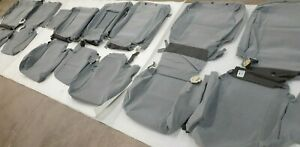 2008-2011 Toyota Sequoia SR5 OEM Factory Cloth Seat Covers Set Gray