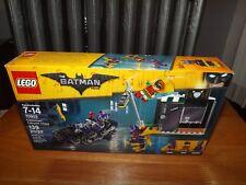 LEGO, THE BATMAN MOVIE, CATWOMAN CATCYCLE CHASE, KIT #70902, 139 PCS, NIB 2017
