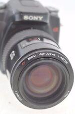 Minolta AF 100-200mm Zoom Lente Para Minolta & Cámaras DSLR Digital Sony Alpha